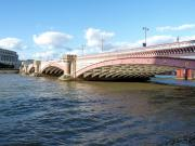 Blackfriars Bridge - River Thames, London.