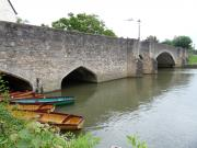 Another view of Abingdon's Burford Bridge - Oxfordshire, England.