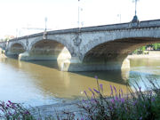 Kew Bridge over The Thames - England.