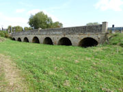 More beautiful arches which are part of the old bridge at Newbridge in Oxfordshire