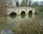 Our favourite Thames bridge - Old Culham Bridge in Oxfordshire, England.