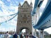 One of Tower Bridge's Towers, London.