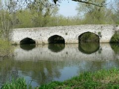 Culham Old Bridge just outside of Abingdon, England